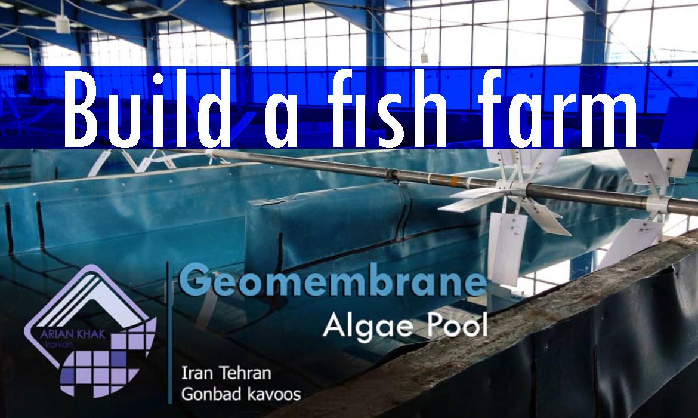 نمونه کار های ساخت استخر پرورش ماهی